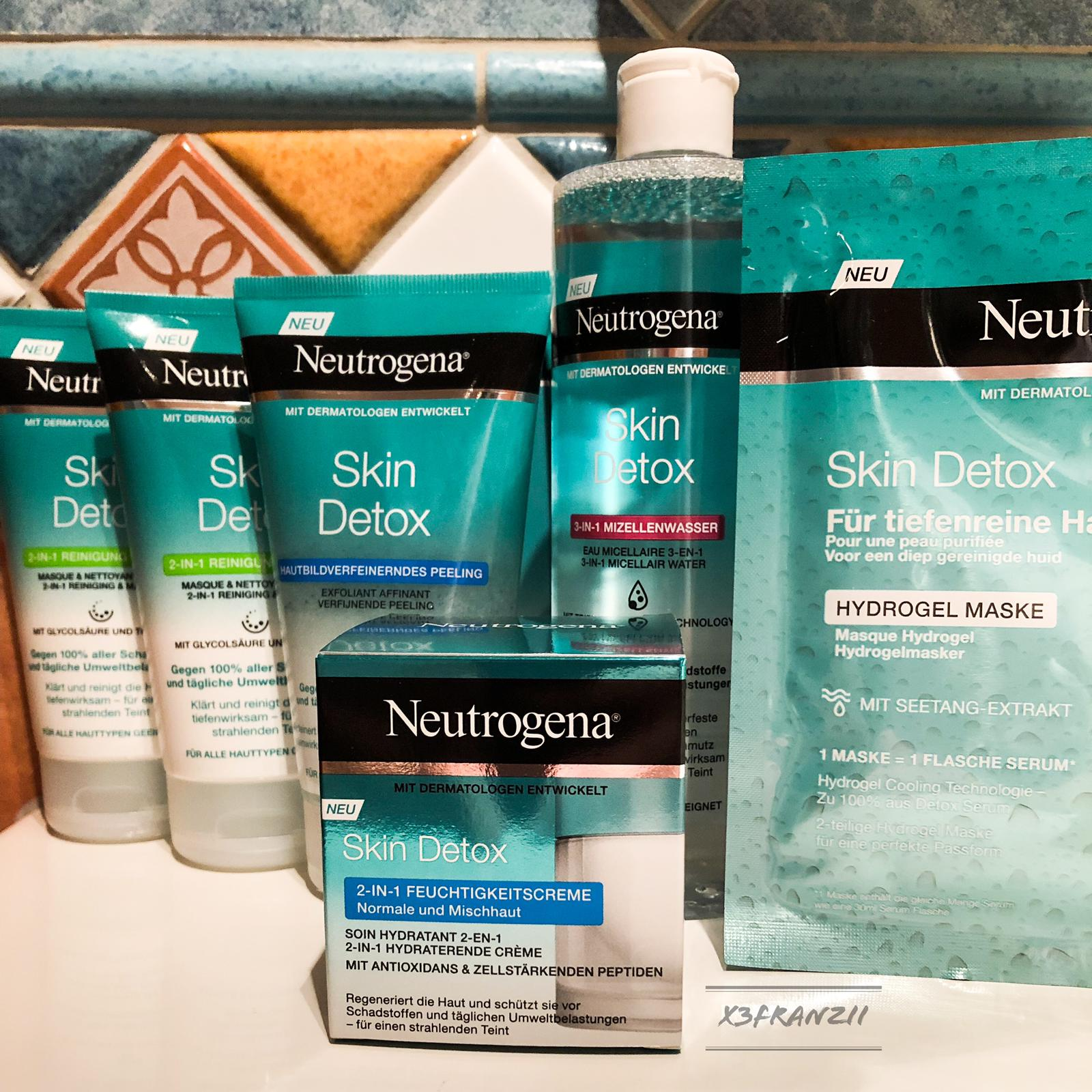 Testpaket von brandsyoulove mit den neuen Skin Detox Produkten von Neutrogena