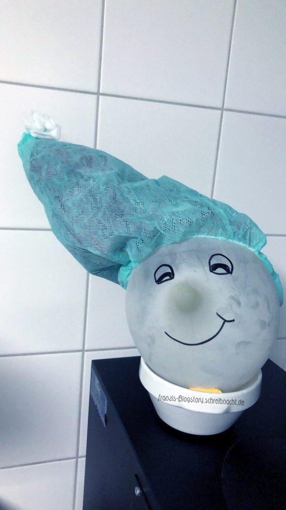 Unser kleiner Freund Otto das OP-Maskottchen :)