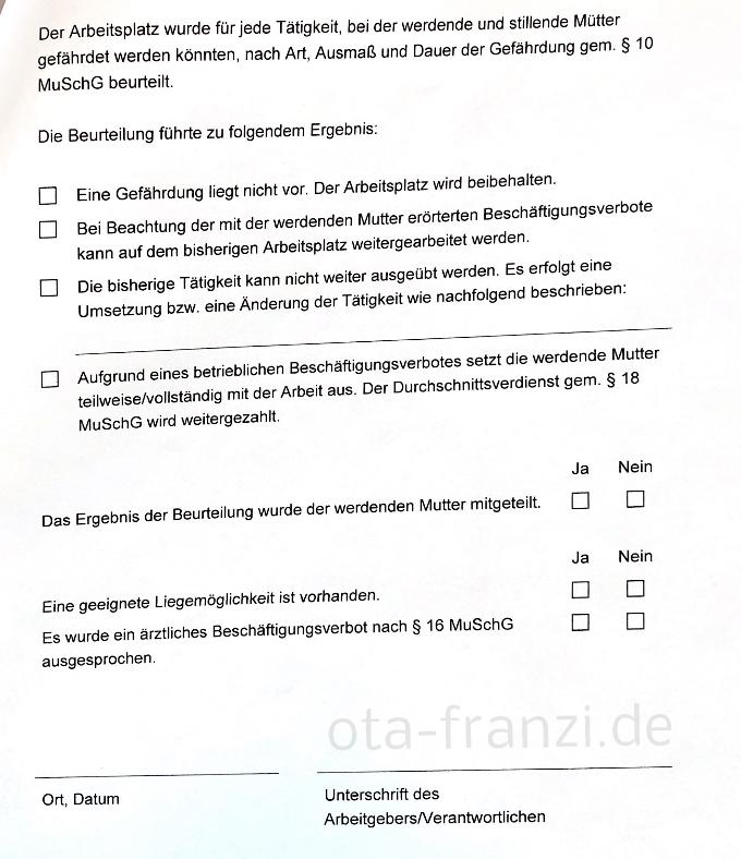 Gefährdungsbeurteilung ota-franzi.de