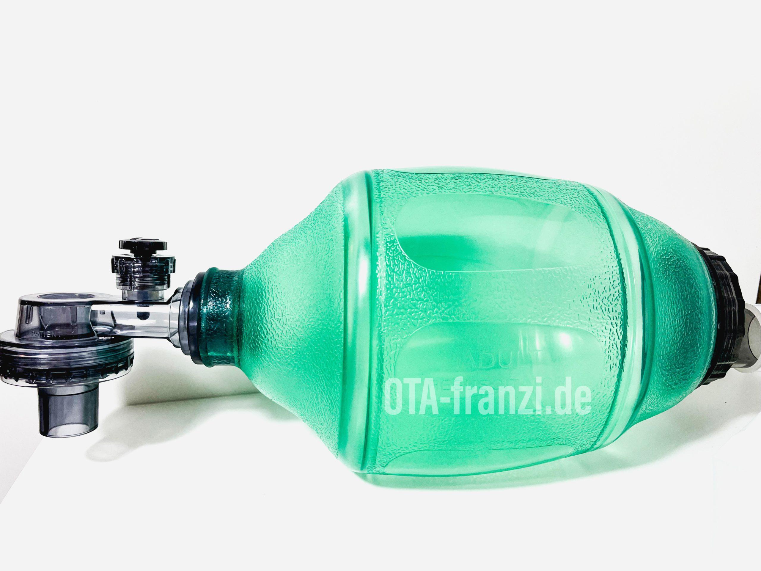Beatmungsbeutel - zur Verfügung gestellt von pulox.de. OTA-franzi.de
